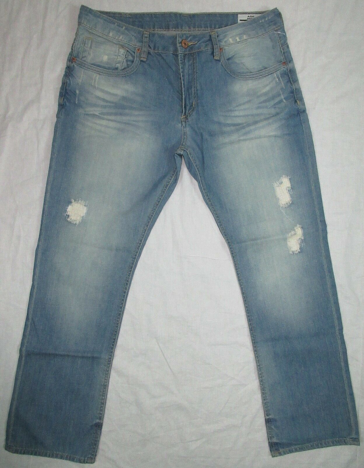 BUFFALO DAVID BITTON ASH BASIC SKINNY JEANS SIZE 36