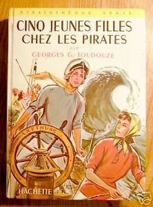 CINQ-JEUNES-FILLES-CHEZ-LES-PIRATES-EO-1958