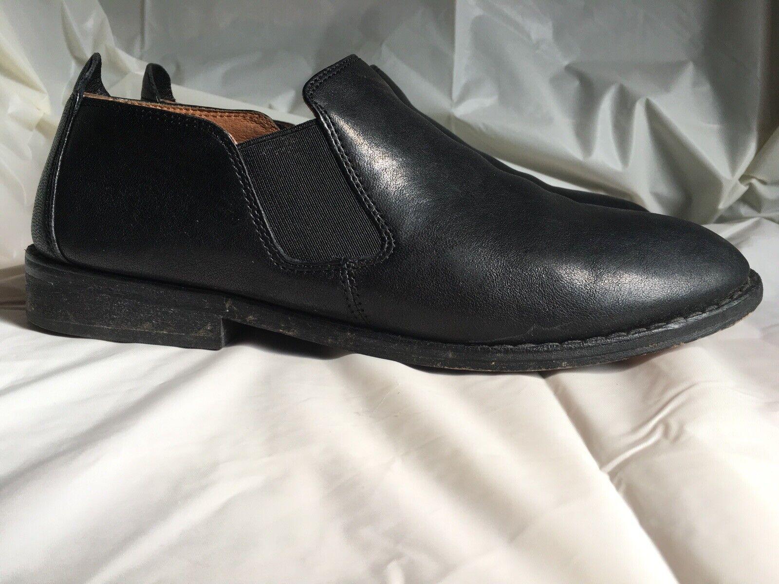 buy popular a452d f03fa Gentle Souls Essex Black Leather Ankle Ankle Ankle Boots sz 8.5 EUC aea2e0