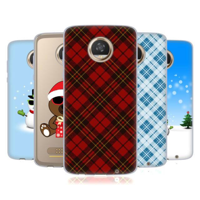 OFFICIAL PLDESIGN CHRISTMAS GEL CASE FOR MOTOROLA PHONES
