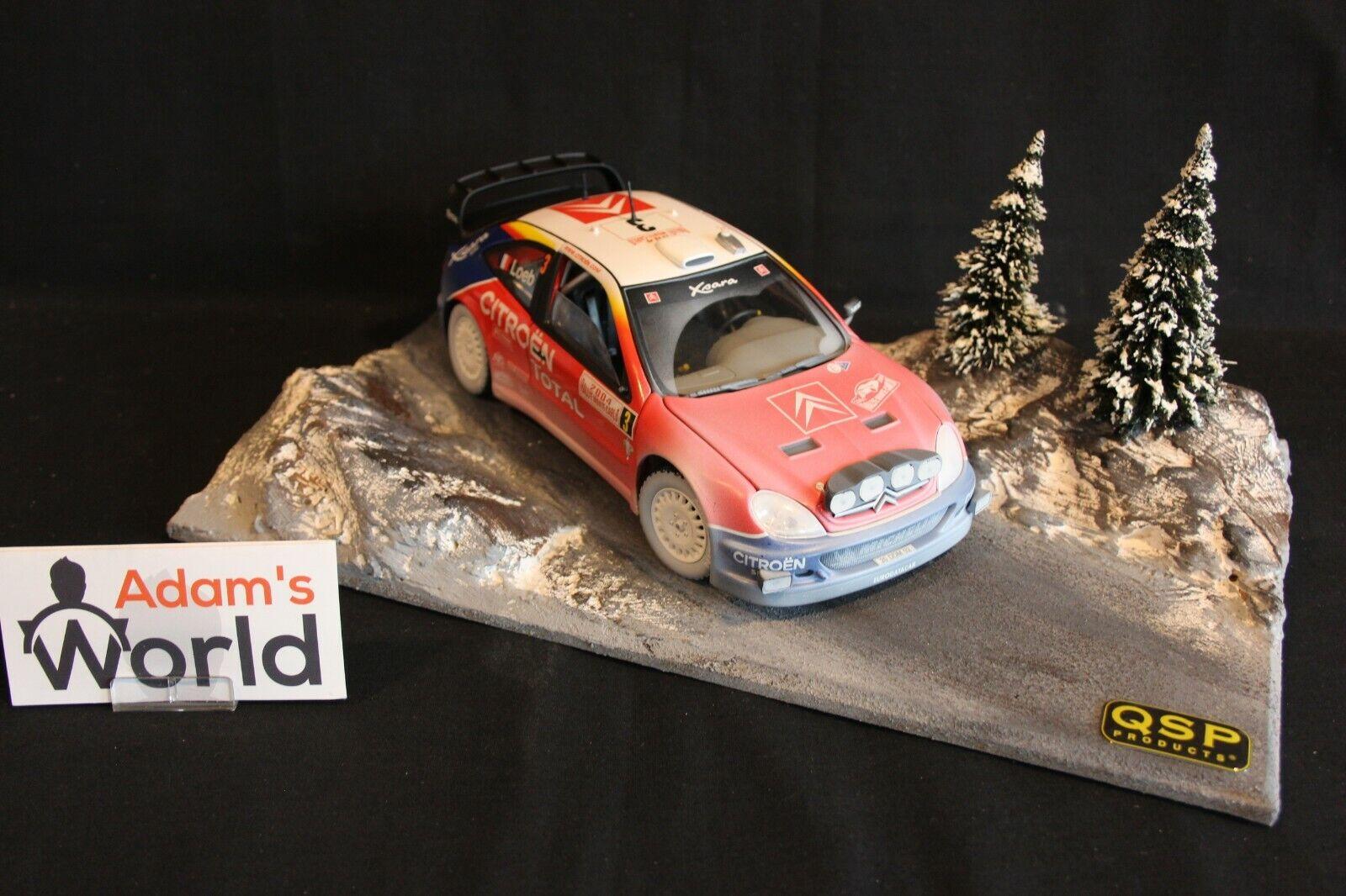 QSP Diorama 1 18 Rallye Monte-Carlo type 2