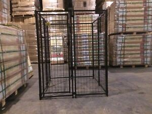 Make Your Own Dog Kennel With 7 Panels And 1 Door Ebay