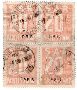 I-B-South-Africa-Railways-Parcel-Stamp-80-Pretoria