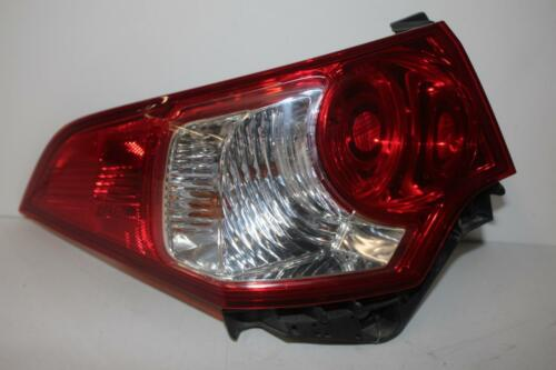2009 ACURA TSX  DRIVER LEFT SIDE REAR TAIL LIGHT 29349 re# biggs