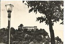 160437 MASSA AULLA - CASTELLO Cartolina FOTOGRAFICA viaggiata 1957 - DIFETTI !!