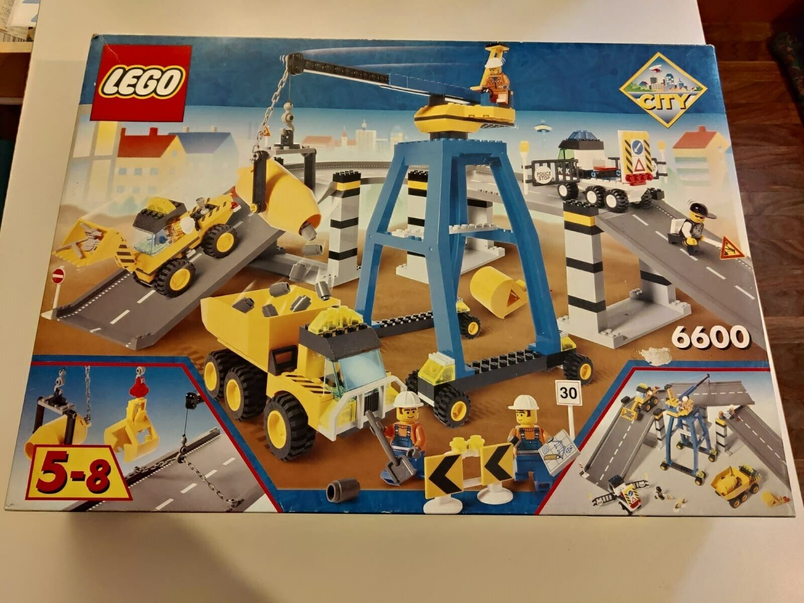 Lego 6600 Highway Construction - USED USED USED LIKE NEW CONDITIONS a69191