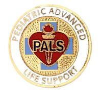 Pediatric Advanced Life Support Lapel Pin Pals Medical Emblem Graduation