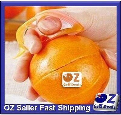 Orange Peeler Slicer Cutter Fruit Citrus Peeler Work Camping Travel BRAND NEW