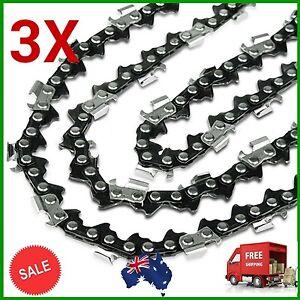 3X-CHAINSAW-CHAIN-FOR-18-034-Ryobi-Chainsaw-3-8LP-050-62DL-42cc-RCS4246b-ETC