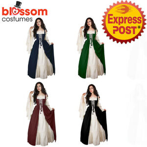 K880-Peasant-Game-Thrones-Renaissance-Medieval-Victorian-Wench-Dress-Up-Costume