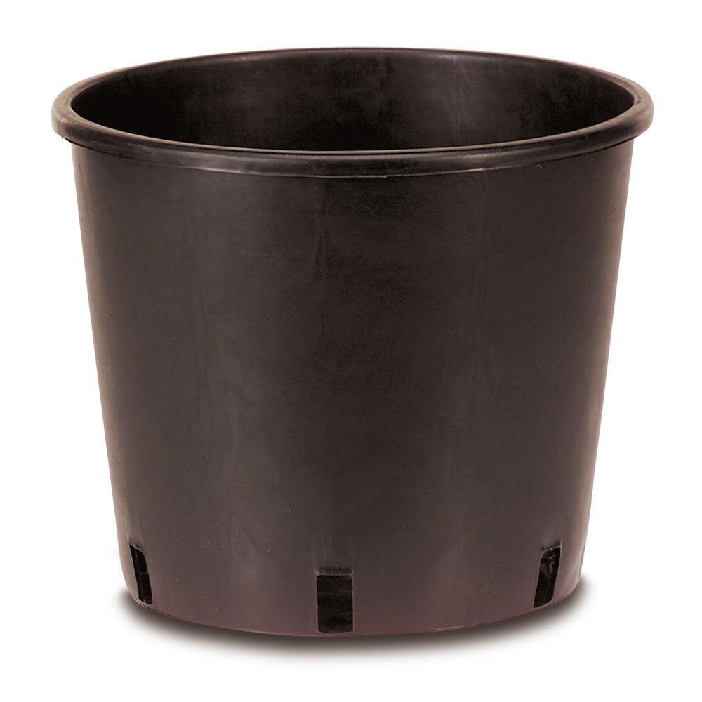 VASO DA VIVAISMO cultistop d.30 x h 30 cm conf x25 vasi neri