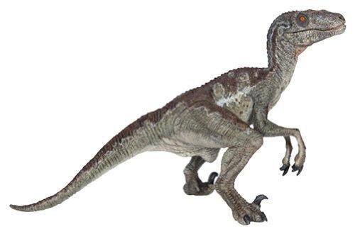 Papo 55023 Velociraptor Prehistoric Dinosaur Model Replica Figurine Toy - NIP
