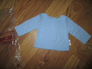 Authentic-AMERICAN-GIRL-DOLL-WTP-CREW-PERIWINKLE-TEE-CLOTHES-NIP-NEW-outfit-Kit