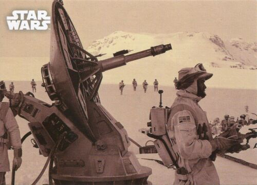 Star Wars ESB Black /& White Sepia Base Card #29 War Comes to Hoth