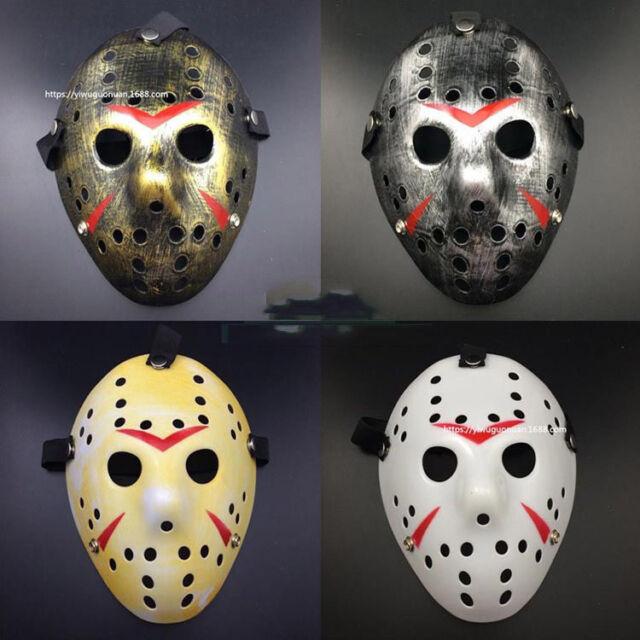 NUOVO Jason Voorhees Venerdì 13th maschera da hockey Film Horror Spaventoso Halloween Maschera