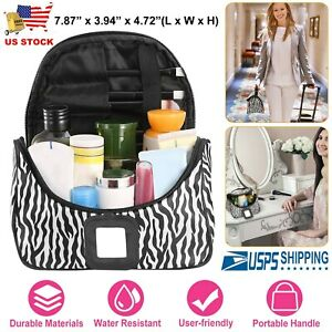 668541bf4156 Details about New Women Travel Multifunction Cosmetic Bag Makeup Case Pouch  Toiletry Organizer