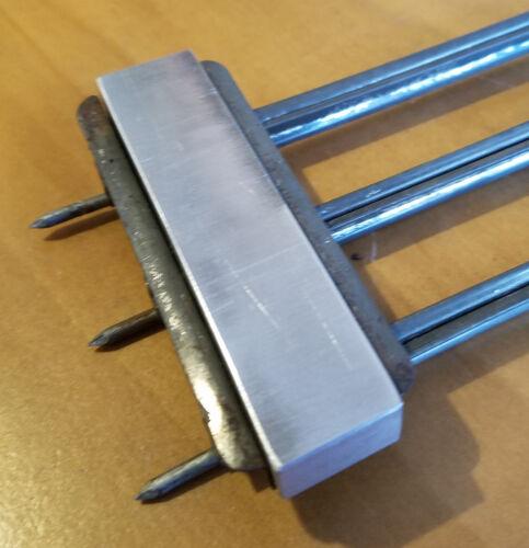 Track Tie Punch PE Design Standard gauge