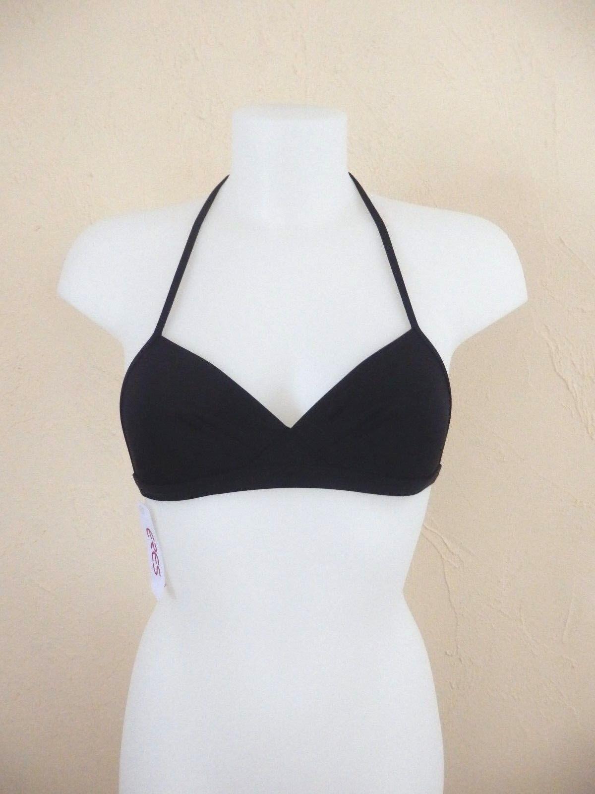 """Eres - Bikini Oberteil """" Wanda Duni  """" - T.36 38 ,Neu,negro - Sitzgelegenheiten  Mercancía de alta calidad y servicio conveniente y honesto."""