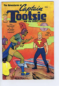 Adventures of Captain Tootsie #1 Superior CANADIAN EDITION