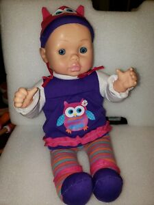 Baby Doll 22 Vintage Silicone Vinyl Fully Dressed Lovable Clothes Ebay
