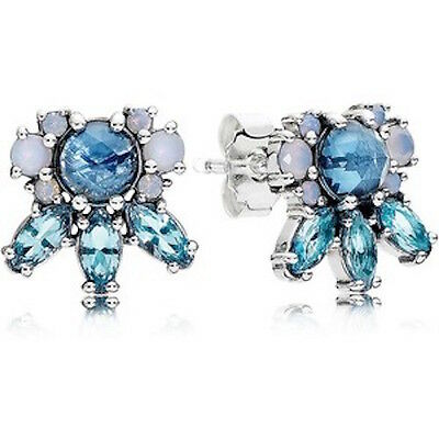 FROST BRILLIANCE 925 Sterling Silver Solid European Stud Earrings