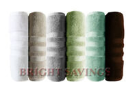 Bath Towel Hotel Reserve Collection Luxury 100% Cotton 30x 58 - Various Colors