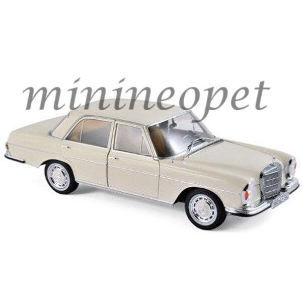 NOREV 183569 1968 MERCEDES BENZ 280 SE 1  18 DIEDANST modellllerL bil IVORY