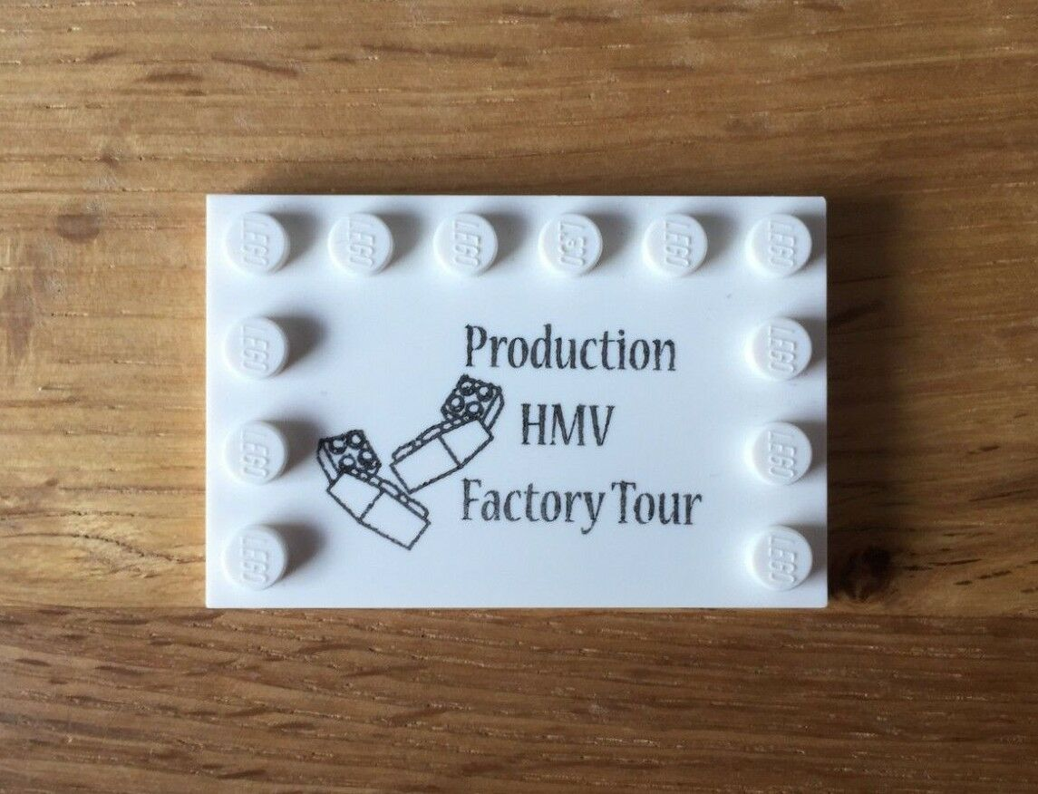 LEGO - Production Factory Tour - Danish Employee Gift - Billund - Extremely Rare