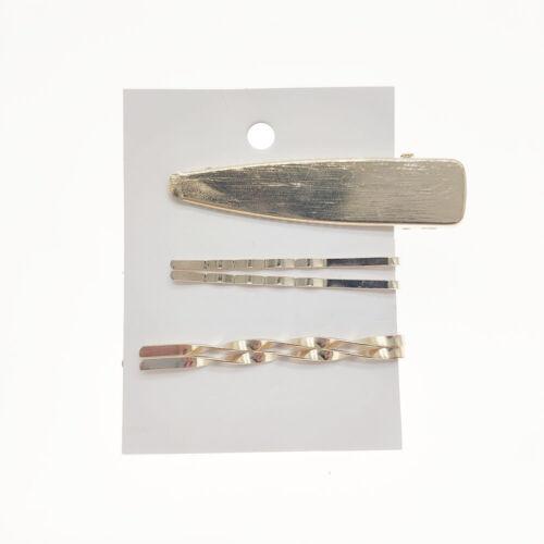 Frauen Mädchen Kristall Brief Perle Haarspange Gold Haarnadel Haarspange Griffe