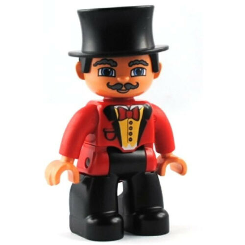 LEGO ® DUPLO personaggio direttore del circo domteur 62941 NUOVO