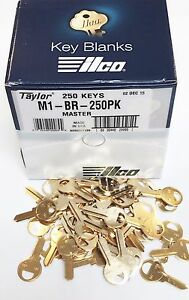 Taylor-M1-Brass-Key-Blanks