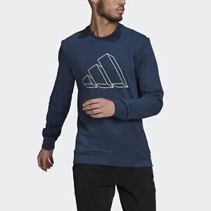 adidas  Sportswear Graphic Crew Sweatshirt Men's