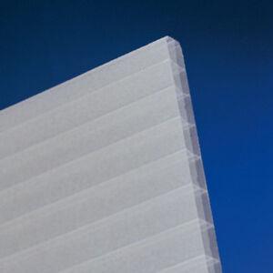 Doppelstegplatten Opal 16 Mm X6 Struktur 1200 Mm Breit Polycarbonat