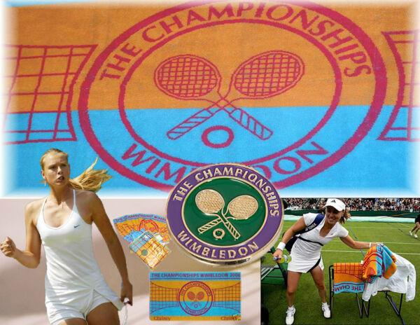 CHRISTY tenis WIMBLEDON Palo Torneo Toalla Mujer 2006