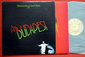 MANFRED-MANN-S-EARTH-BAND-BUDAPEST-INNER-EXYUG-LP-MINT