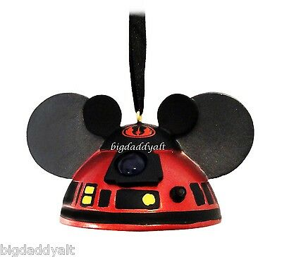 New Disney Park Star Wars R2d2 R2 Mk Mickey Ear Hat