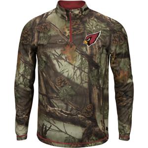 Arizona Cardinals NFL Quarter-Zip Shirt Men's size 2XL New w Tag