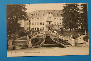 Lothringen-Vogesen-88-AK-CPA-Vittel-1911-L-Hotel-de-l-Etablissement-Hausansicht