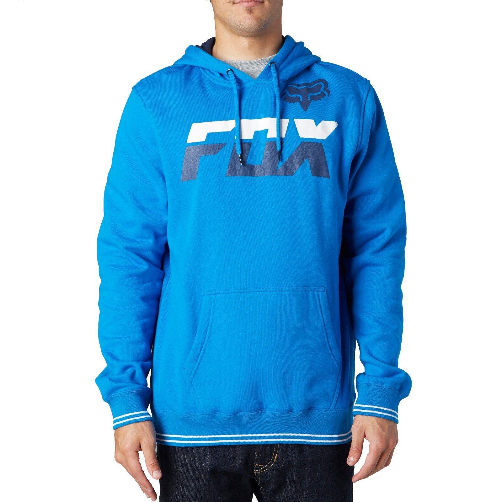 Fox Racing Deviant Pullover Hoody Blau