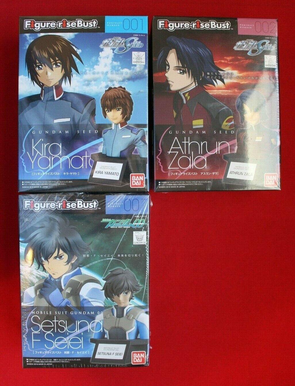 Mobile Suit Gundam Kira Yamato Athrun Zala Setsuna F Seiei Japanese Model Lot