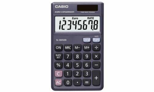 CASIO Taschenrechner SL-300 VER Solar-// Batteriebetrieb