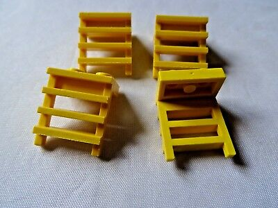 Lego Plate 1x2 Modified With Ladder Part 4175 X 4 in pack Yellow