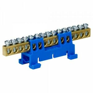 Terminals-for-Din-Rail-Distributor-Collecting-Blue-15-polig-8122
