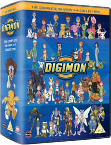 Digimon-The-Complete-Series-Seasons-1-4-Collection-DVD-2013-32-Disc-US-Seller