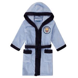 Manchester City FC Official Football Gift Boys Fleece Zip Hoody