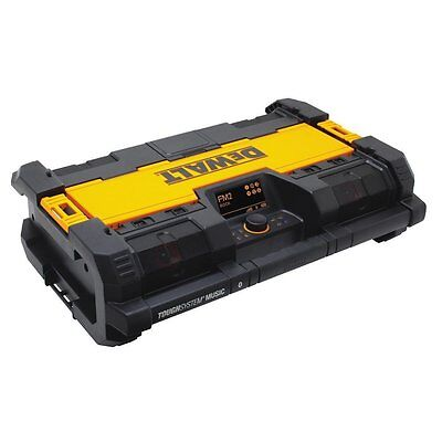 DEWALT DWST08810 Tough System Music Radio and Charger