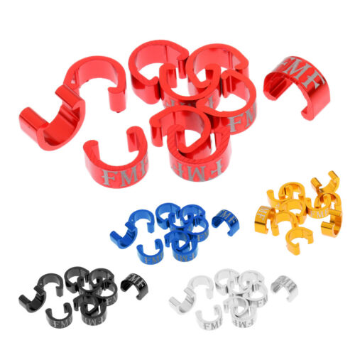 10pcs Bike Bicycle Cycle MTB C-Clips Buckle Brake Gear Cable Housing Guide