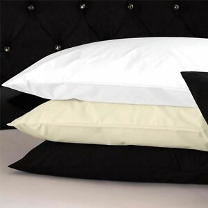 100-Cotton-Fitted-Bed-Sheets-Pillow-Cases-Single-Double-King-Size-Bedding
