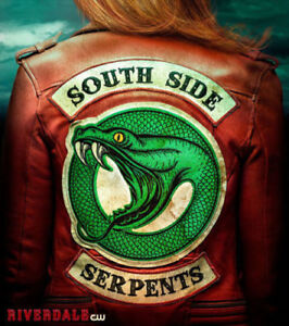 official photos elegant appearance authentic Details about Women's Riverdale Southside Serpents Cheryl Blossom Red Real  Leather jacket