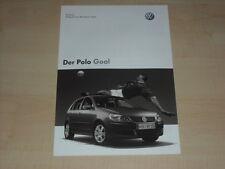 65414) VW Polo Goal - Preise & Extras - Prospekt 01/2006